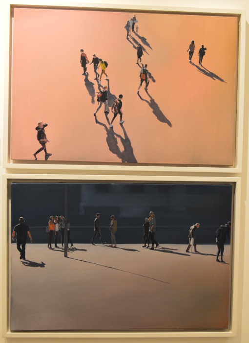 WHAT'S HE PLAYING AT and STICKING POINT, both by SAM HEWITT, £2300 each