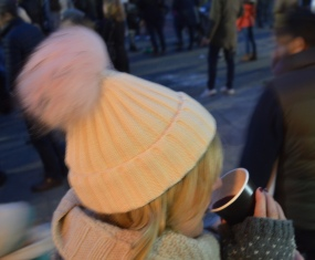 NEW HAT + MULLED WINE = HAPPINESS