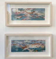LOCAL ARTIST ADRIAN HEMMINGS AT BESIDE THE WAVE