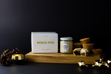 MELROSE AND MORGAN MINCE PIES AND BRANDY BUTTER