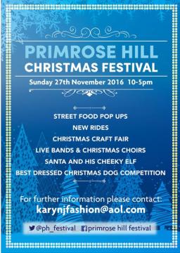 PRIMROSE HILL CHRISTMAS FESTIVAL 2016