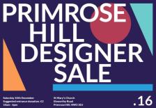 PRIMROSE HILL DESIGNER SALE