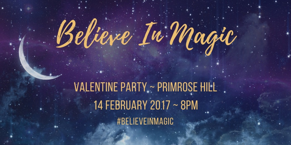 BELIEVE IN MAGIC VALENTINES BALL