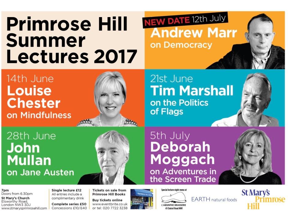 PRIMROSE HILL LECTURES 2017
