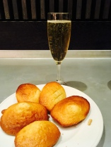 CHAMPAGNE AND MADELEINES