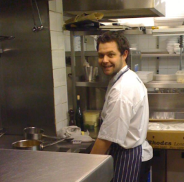 JEAN MARC OF THE ORIGINAL KITCHEN TEAM