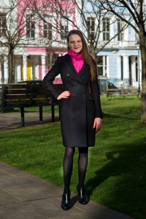 ANNA READY FOR BUSINESS photo by Lars Christiansen