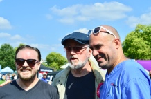 RICKY GERVAIS, PETER EGAN AND MARC